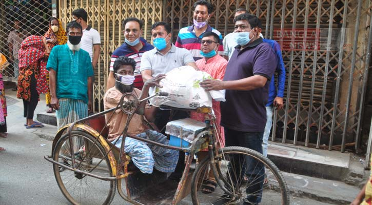 Bashundhara Group gives food aid to 1,700 more poor families