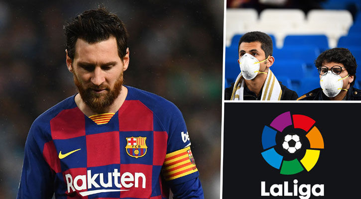 Messi self-quarantined in isolated Barcelona mansion