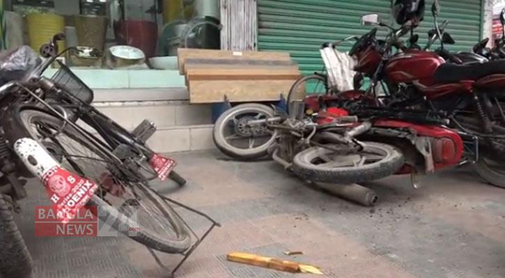 টাঙ্গাইলে ছাত্র অধিকার পরিষদের মানববন্ধনে হামলার অভিযোগ